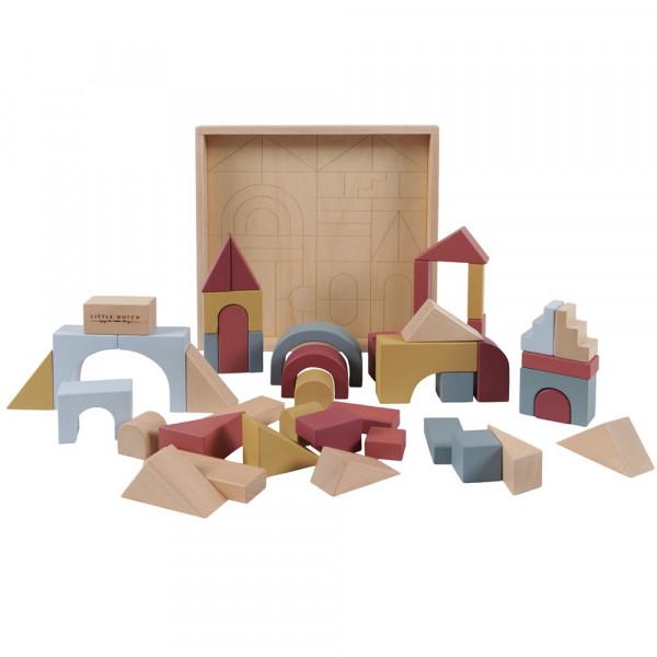 Little Dutch Holz Spielzeug Klötze 47 teilig