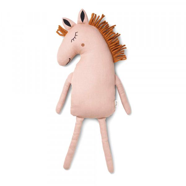 Ferm Living Kissen Pferd rosa