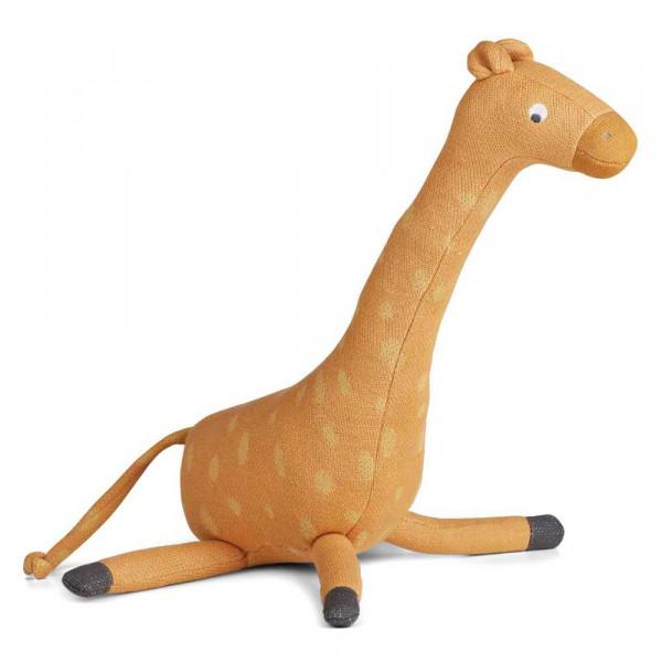 """Liewood """"Gitte"""" Kuscheltier Giraffe senfgelb"""