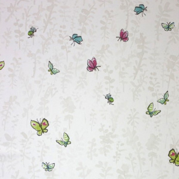Osborne & Little Tapete Schmetterlinge sand