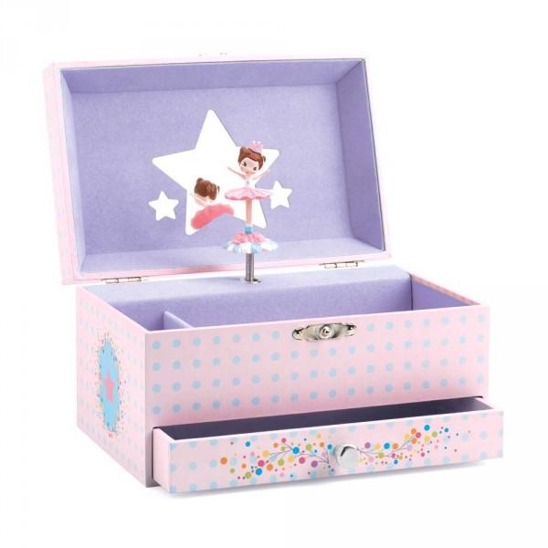 Djeco Schmuckschatulle mit Spieluhr Ballerina