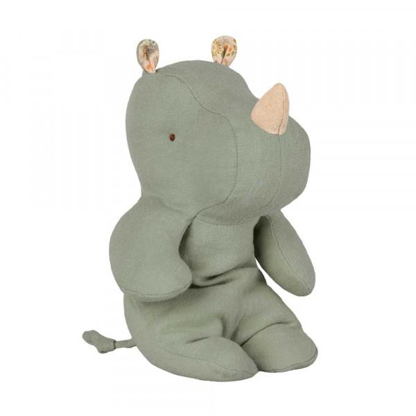 Maileg Stofftier Rhino salbeigrün klein
