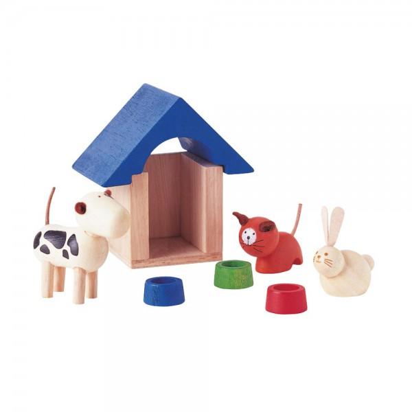 Plan Toys Zubehör Haustierset