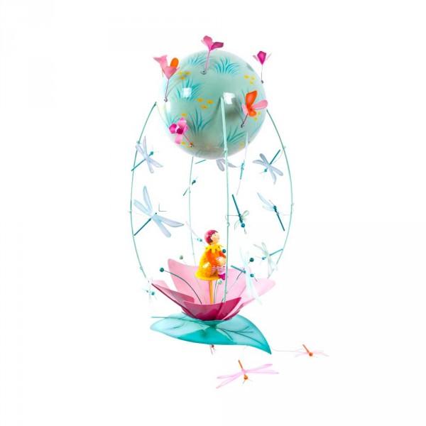 L' Oiseau Bateau Mobile Heissluftballon Schlumpeter Blüte