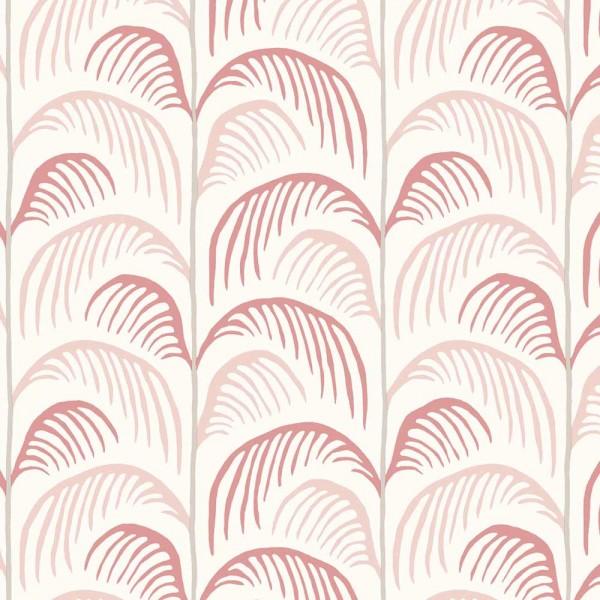 Eijffinger Mini Me Tapete Palmen Blätter rosa