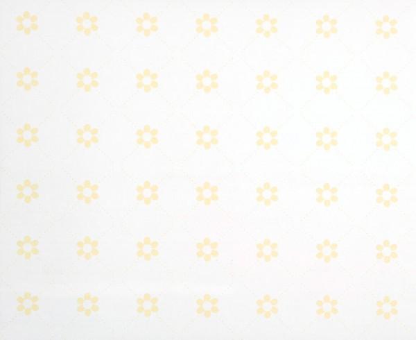 Cosas Minimas Vliestapete Blumen gelb