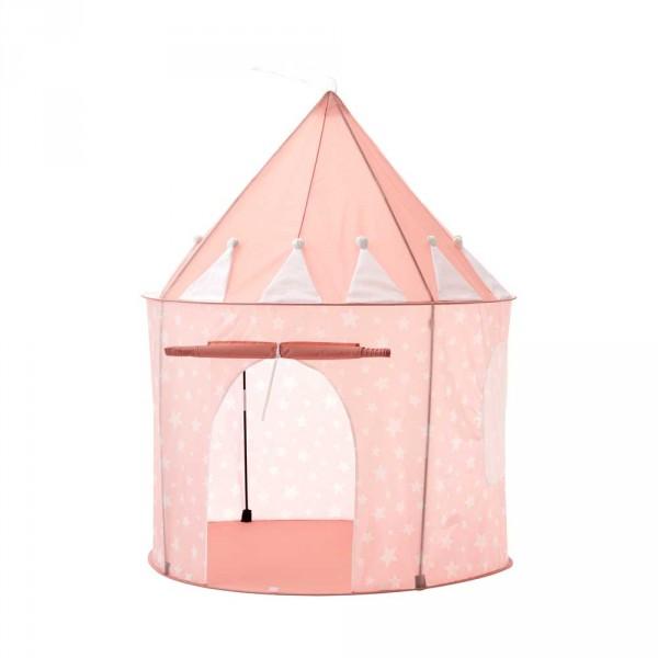 Kids Concept Spielzelt rund Sterne rosa