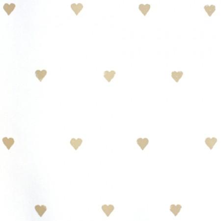 Harlequin Tapete Herzen sand