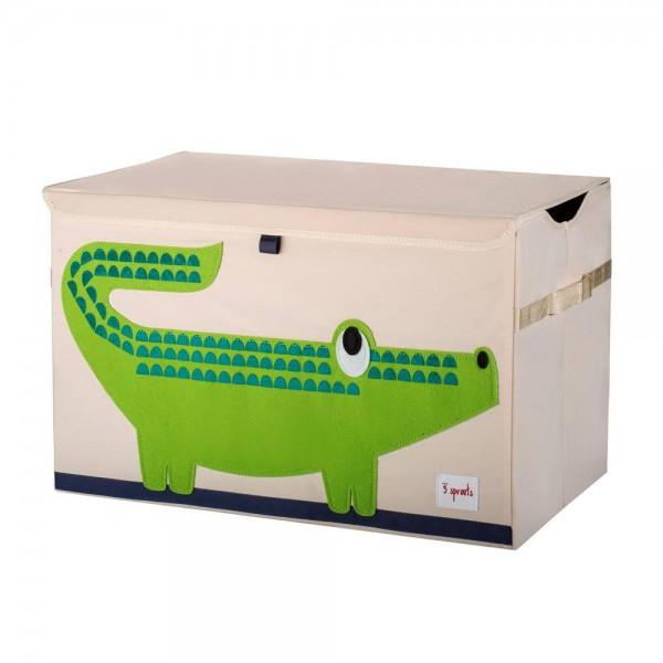 3 Sprouts Aufbewahrungskiste Deckel Krokodil