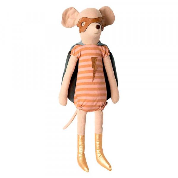 Maileg Stofftier Maus Superheldin gross