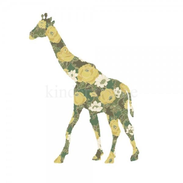 Inke Tapetentier Giraffe 166
