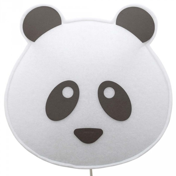 Buokids Soft Wandlampe Panda Bär schwarz