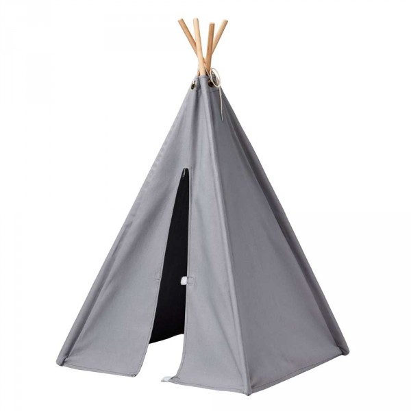 Kids Concept Kinder Mini Tipi grau