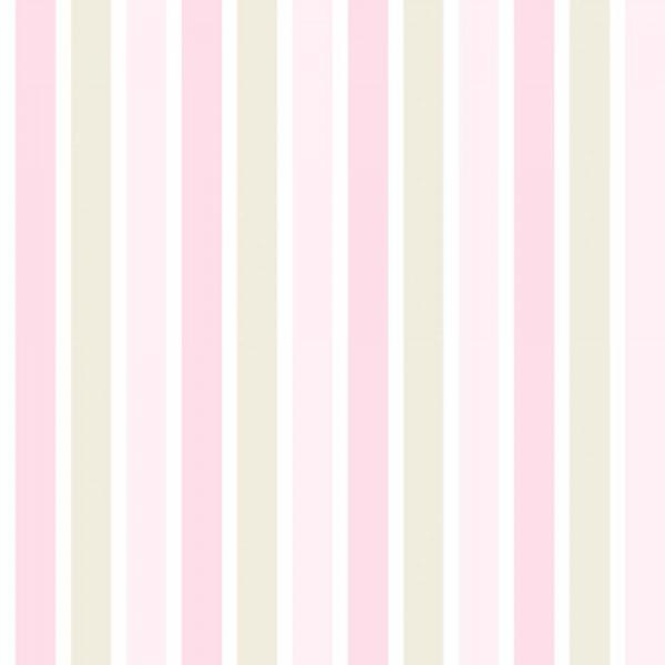 Rasch Textil Everybody Bonjour Tapete Streifen rosa beige