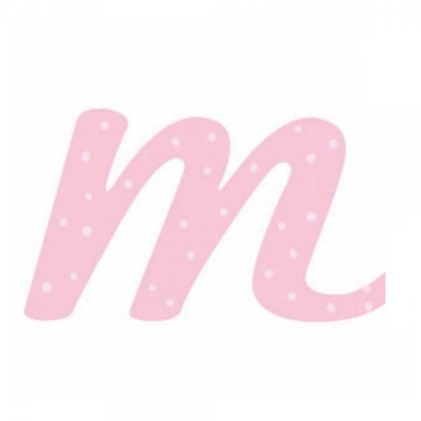 Lilipinso Sticker rosa Buchstabe m