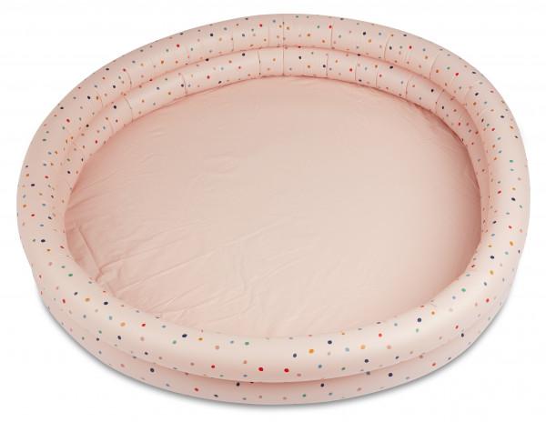 """Liewood """"Savannah"""" Planschbecken gross Confetti Mix rosa"""