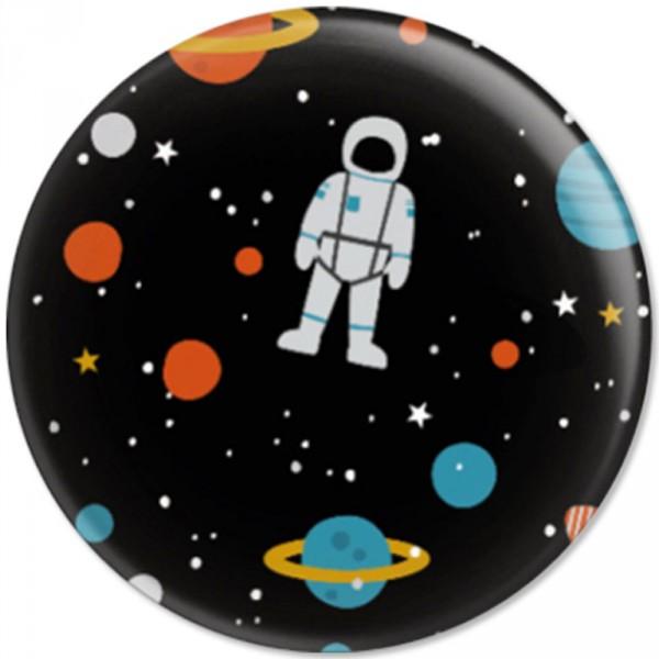 Ava & Yves Kinder Button / Anstecker Weltraum