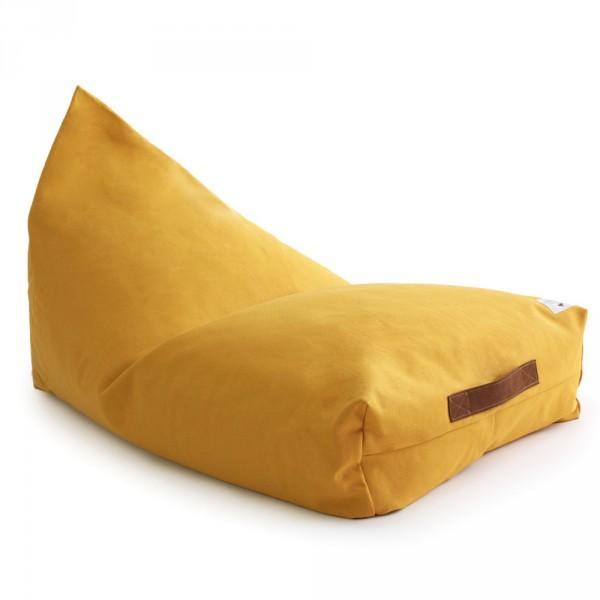 Nobodinoz Sitzsack / Sitzkissen Oasis Farniente gelb