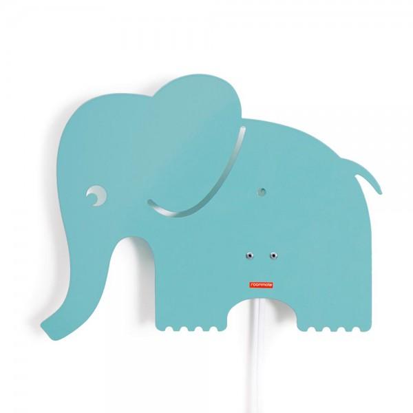 Roommate Wandlampe Elefant Metall mint