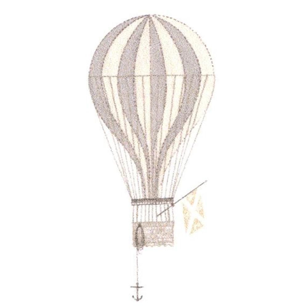 Casadeco Wandbild Ballon Grau Jules Julie Bei Kinder Raume