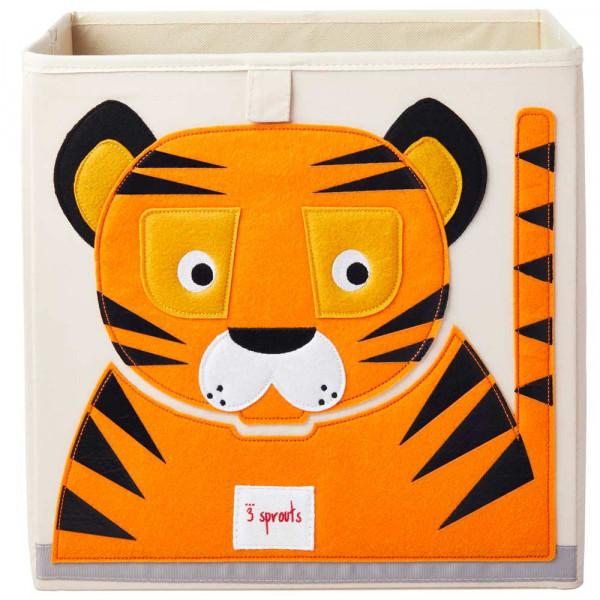 3 Sprouts Spielzeugkorb Tiger