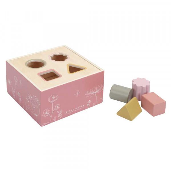 "Little Dutch Sortierbox ""Wild Flowers"" rosa"