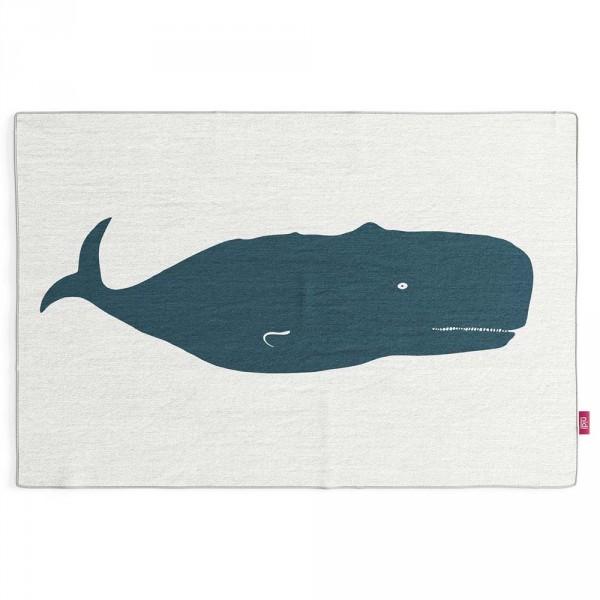 Nidi Kinderteppich Wal