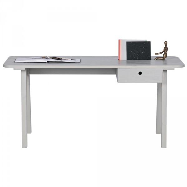 WOOOD Sammie Schreibtisch Kiefer grau
