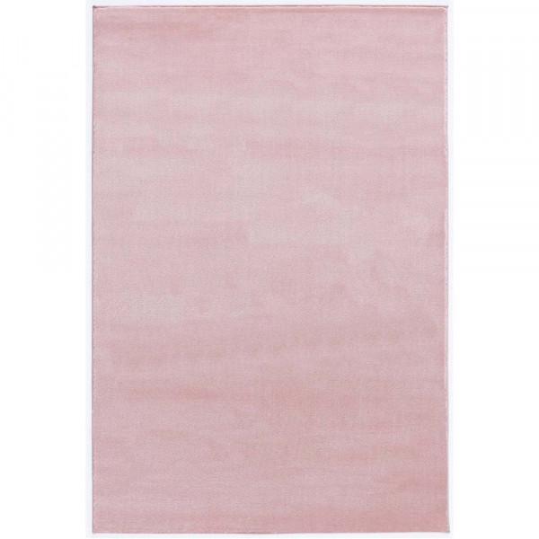 Livone Kinderteppich uni rosa