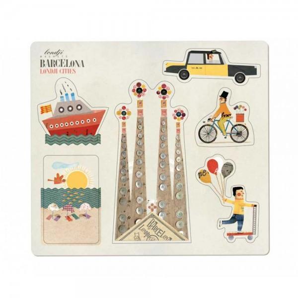 Londji Kinder Magneten Barcelona