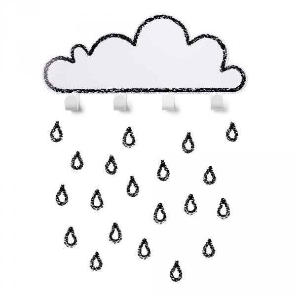tresxics Kindergarderobe Wolke weiss