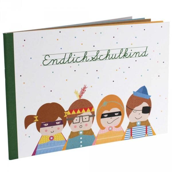 """Ava & Yves Erinnerungsbuch """"Endlich Schulkind"""""""