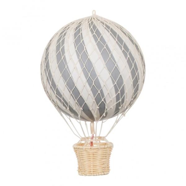 Filibabba Deko Heissluftballon grau