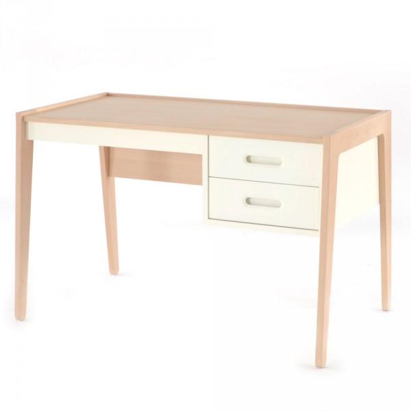 Schreibtisch Kiefer weiß