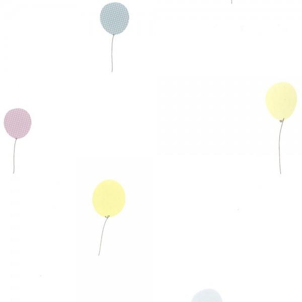 Casadeco Tapete Luftballons grau lime Jules & Jule