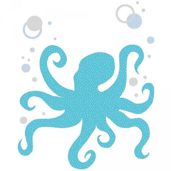 Inke Tapetentier Octopus Muster 219