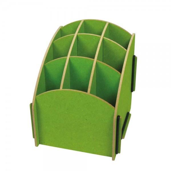 Werkhaus Stiftebox grün