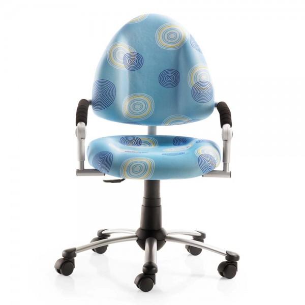 Mayer Kinder Bürostuhl freaky Kringel blau