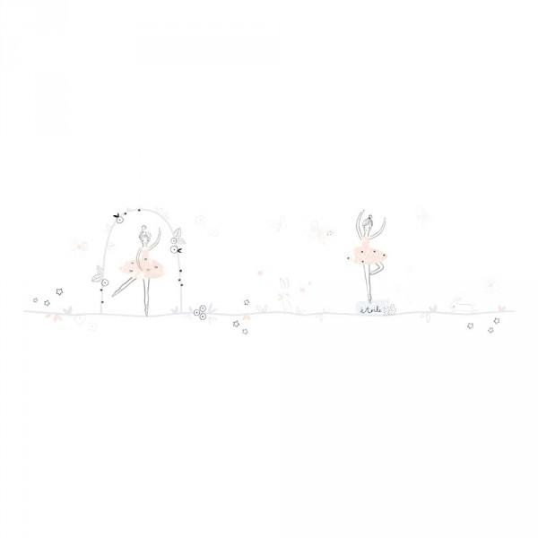 Lilipinso Wandsticker XL lang Ballerina rosa