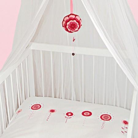 Taftan Bettwäsche rosa Rosen 100 x 135