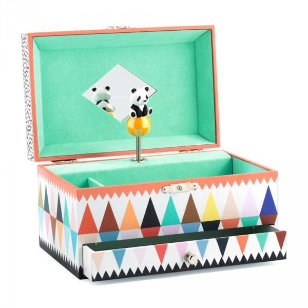 Djeco Schmuckschatulle mit Spieluhr Panda