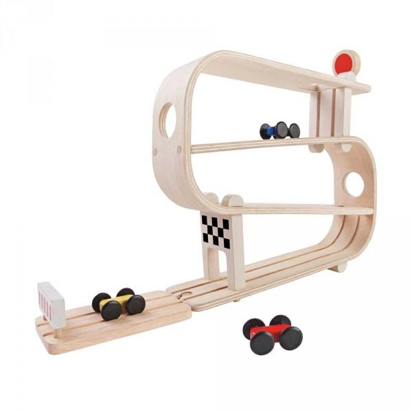 Plan Toys Kugelbahn mit Autos