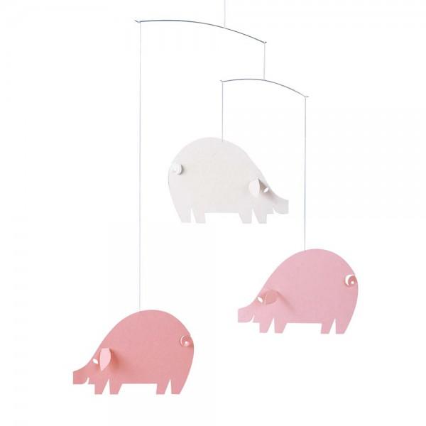 Flensted Mobile rosa Schweinchen