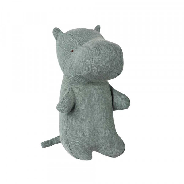 Maileg Stofftier Hippo blau mini