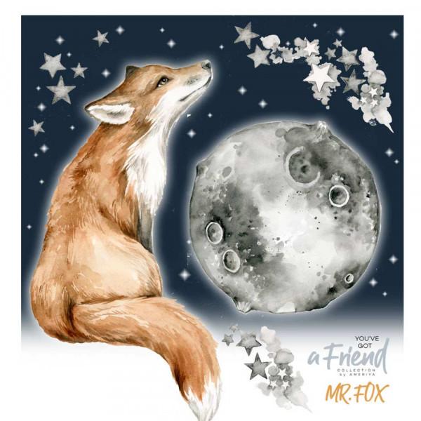 Dekornik Wandsticker Fuchs & Mond-Copy