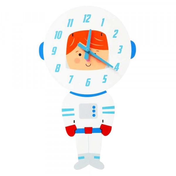 Rex London Kinder Wanduhr Astronaut