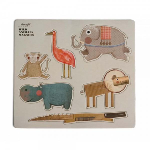 Londji Kinder Magneten Tiere