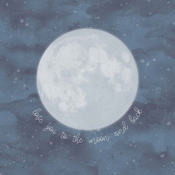 Eijffinger Wandbild Mond