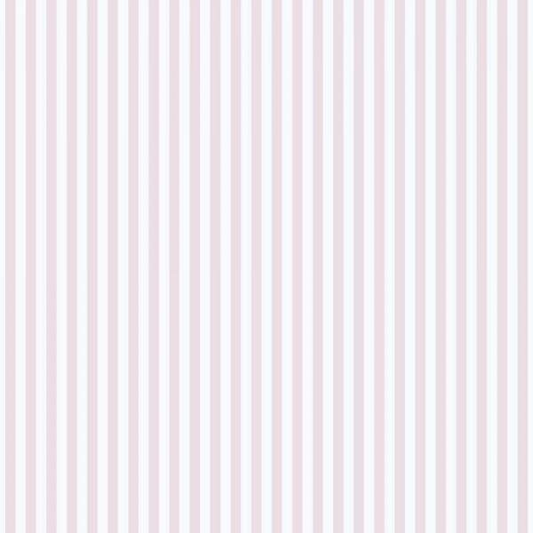 Casadeco Alice & Paul Streifentapete rosa weiss