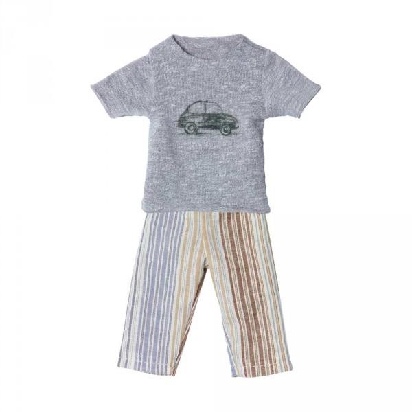 Maileg Bekleidungs-Set Pyjama Bruder Ginger Grösse 1